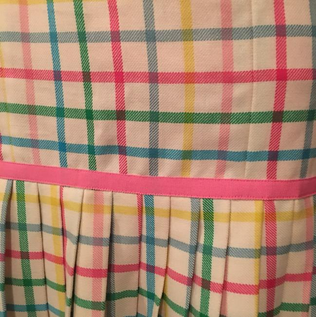 Milly of New York short dress Pink, green, yellow, blue on Tradesy Image 6