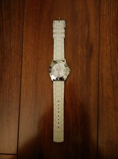 Juicy Couture Juicy Couture White Jelly Watch