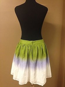 United Colors of Benetton Multicolor Pleated Skirt Multi-Color