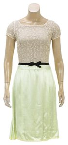 Marc Jacobs short dress Cream/Green on Tradesy