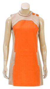 Marc Jacobs short dress Beige/Orange on Tradesy