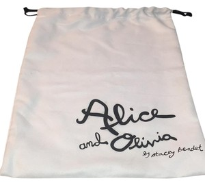 Alice + Olivia ALICE AND OLIVIA BY STACEY BENDET DRAWSTRING DUST BAG 12.5