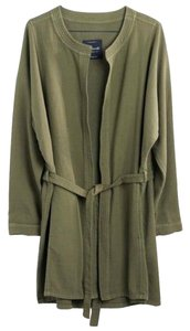 Madewell Duster Cotton Kimono Cargo Green Jacket