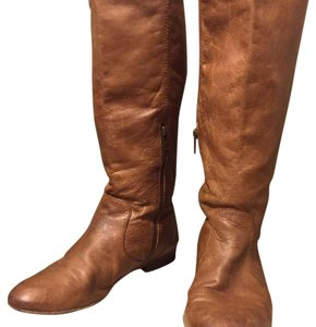 Frye Leather Vintage Tan Boots