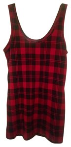 No Boundaries Top Black and Red