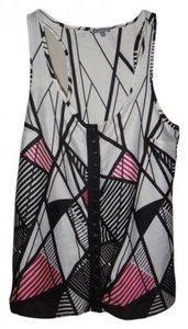 Charlotte Russe Top Pink, Black, White