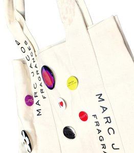 Marc Jacobs Marc Jacobs Button Pin Charm Parfums Tote