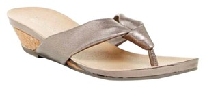 Kenneth Cole Reaction Pewter Sandals