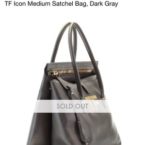 Tom Ford Satchel in Taupe