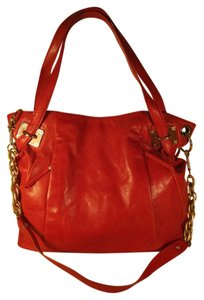 Elliott Lucca Leather Convertible Cross Body Tote Hobo Shoulder Bag