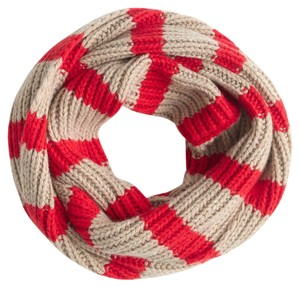 J.Crew Ribbed infinity scarf in stripe One Size