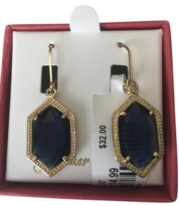 Glimmer and Grace Glimmer and Grace Blue Crystal Earring