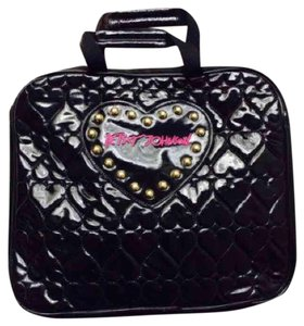 Betsey Johnson Satchel in Black