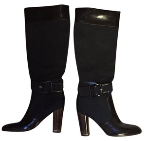 Stella McCartney Black with faux wood heel Boots