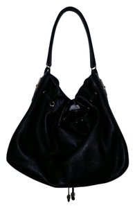 Kate Spade Leather Drawstring Hobo Bag