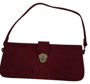 Brahmin Red Clutch