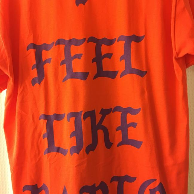 Kanye West Pablo T Shirt Orange Image 1