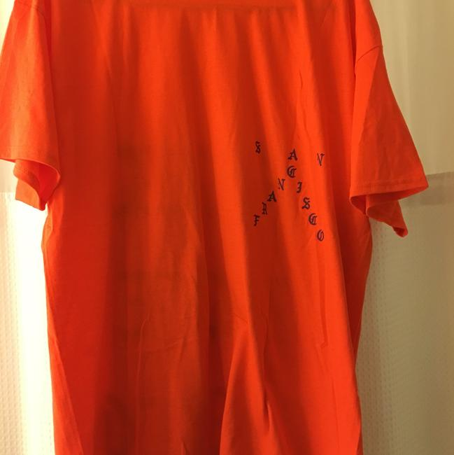 Kanye West Pablo T Shirt Orange Image 4