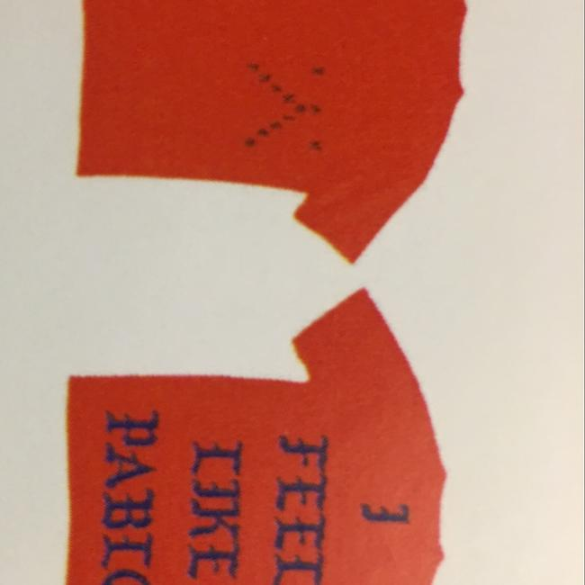 Kanye West Pablo T Shirt Orange Image 6