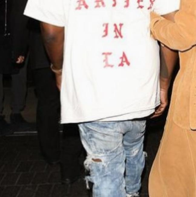 Kanye West Pablo T Shirt Orange Image 8