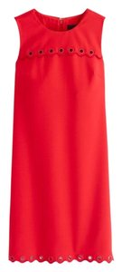 J.Crew short dress ELECTRIC RED on Tradesy