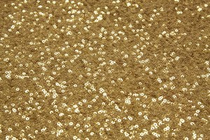 Quantity 2 Gold Sequin 90x156