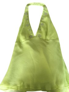 Laundry by Shelli Segal Green Halter Top