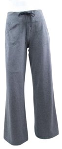 Lululemon Heather Gray Luon Drawstring Waist Fitness Pants