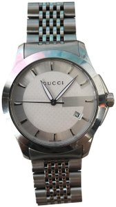Gucci Gucci Stainless Steel Silver G Watch