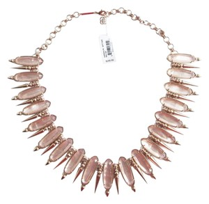 Kendra Scott KENDRA SCOTT Gwendolyn Peach Illusion Rose Gold Statement Necklace