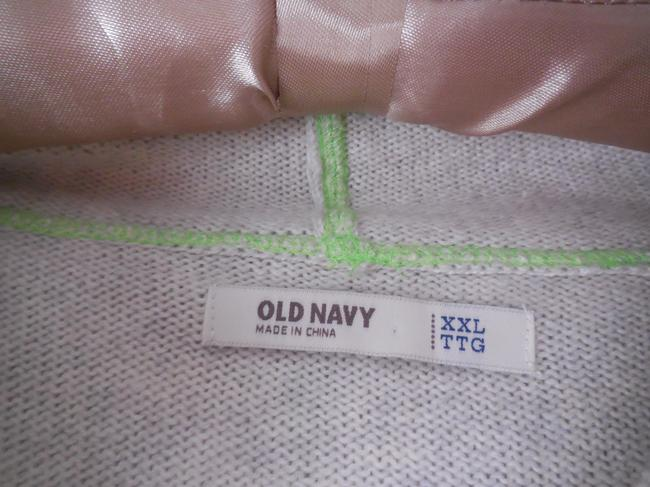 Old Navy Hooded Zip Up Longsleeves Plus-size Cotton Blend Cardigan Image 3