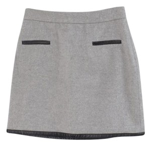 Club Monaco Mini Skirt Grey