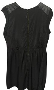 Mossimo Supply Co. short dress Black with gold zipper Little Plus-size Cute Night Out on Tradesy