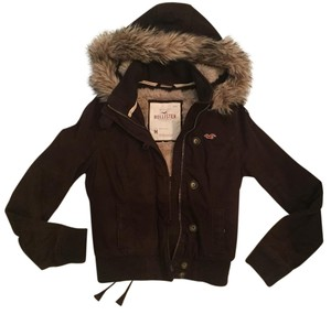 Hollister Fur Coat