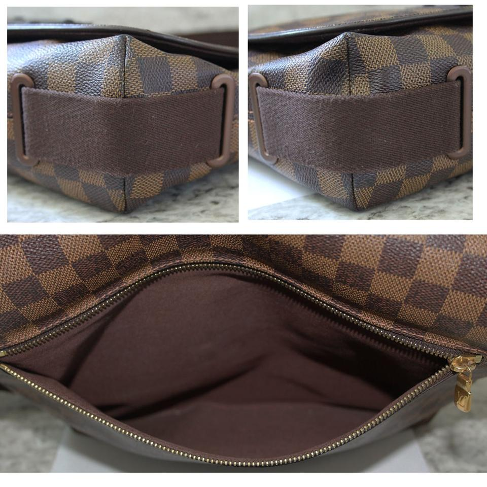 ab5d46457ffc Louis Vuitton Brooklyn Mm Damier Ebene Brown Canvas Messenger Bag - Tradesy