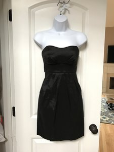 Alyn Paige Lbd Strapless Pockets Dress