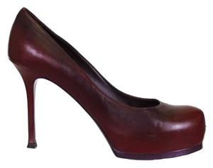 Saint Laurent Oxblood Pumps