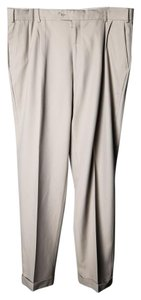 Ballin Mens Regular Fit Dress Pant Trouser/Wide Leg Jeans-Light Wash