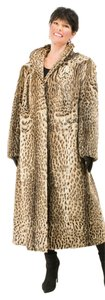 OCELOT FUR COAT Leopard Fur Coat