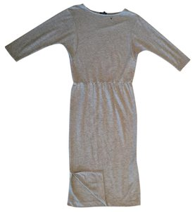 Heather Grey Maxi Dress by The Limited