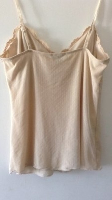 The Limited Lined Camisole With Lace Beading Top tan