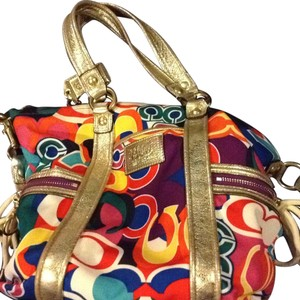 Coach Tote in Colorful..spring Vibrant Popping Colors