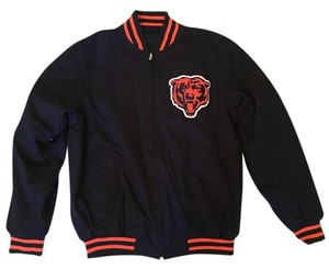 Chicago Bears Vintage Football navy Jacket