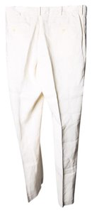 Ralph Lauren Polo Mens Ivory Trouser/Wide Leg Jeans-Light Wash