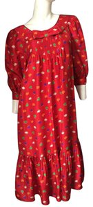 Nina Ricci Designer Polka Dot Vintage Dress