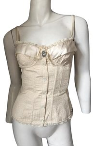 John Galliano Galiano Bustier Top