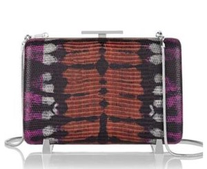 Alexander Wang Purple Chasity Crossbody Multi-color Clutch