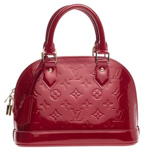 Louis Vuitton Alma Vernis Satchel