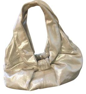 Kooba Metallic Hobo Bag