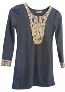 Junjie Clothing Lace Lace Trim Tunic